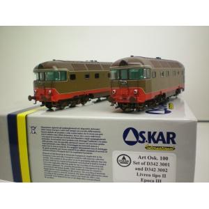 Set 2 loco D 342 Os 100